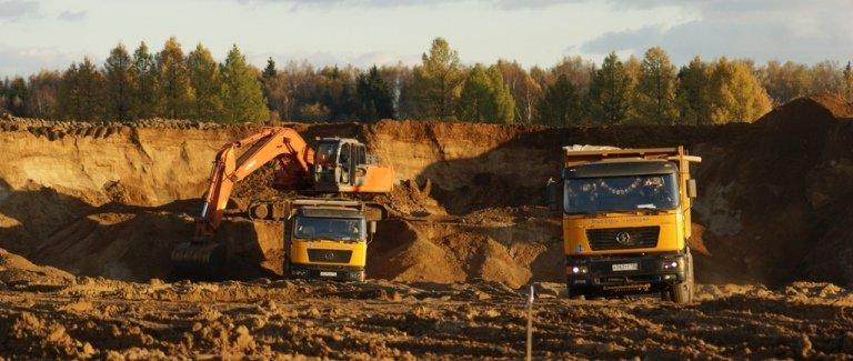 Карьерный песок, доставка песка, цена на песок, песок Уфа, песок для строительных работ