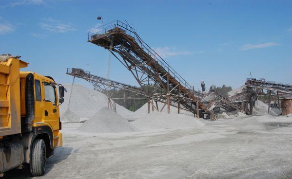 щебеночный карьер, производство щебня, доставка щебня, щебень гранитный